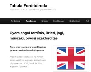 angol magyar fordítás